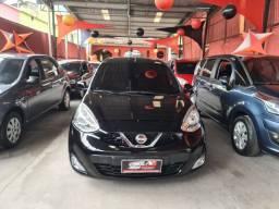 Nissan March 2015 1.0 1 mil de entrada Aércio Veículos ngr
