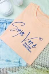 T-shirts Feminina (Seja Você)