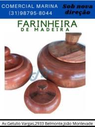 farinheira de madeira