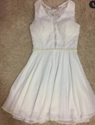 Vestido casamento cívil ou formatura enfermagem