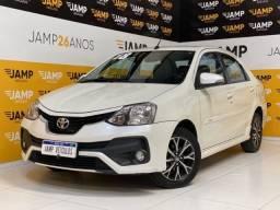 Toyota Etios Sedan Platinum 1.5 Flex Automático 2018