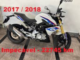 BMW G 310 R - 2017 / 2018 - Impecavel - freios ABS