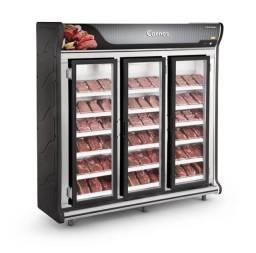 Título do anúncio: v- Expositor 3 portas para carnes top demais - pronta entrega