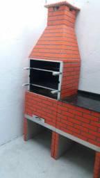 Título do anúncio: Churrasqueira pré moldada 65 cm  tipo tijolinho
