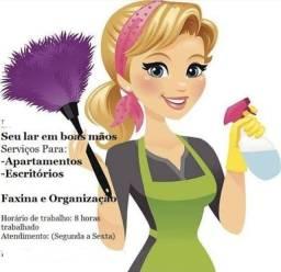 Título do anúncio: Doméstica / diarista / Faxineira / babá