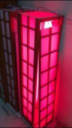 Título do anúncio: Vendo luminaria portal vermelha para restaurante Japonês