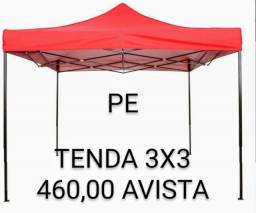 Título do anúncio: Tenda sanfonada 3x3 18kg