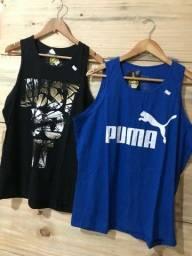 Camiseta Regata R$ 28,00 cada