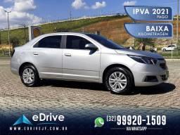Chevrolet COBALT LTZ 1.8 Flex 4p Aut. - IPVA 2021 Pago - Baixo KM - Pneus Novos - 2019
