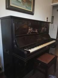 Piano Alemão em madeira original 1910