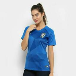 Camisa feminina oficial fans Nike/Brasil