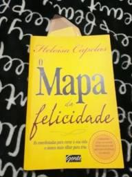 Livro, o Mapa da felicidade da autora ( Heloisa Capelas )