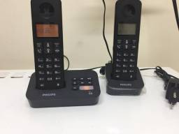 Telefone sem fio Philips com ramal