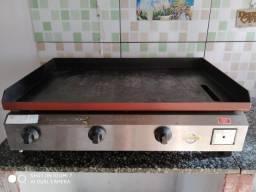 Chapa Profissional Marchesoni 80x50 (3 Queimadores)