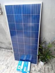 Vendo kit com painel solar