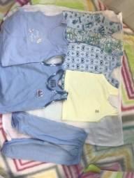 Lotes roupas usadas para bebê menino