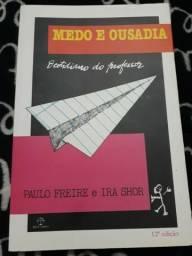 Livro, Medo e ousadia, ( Paulo Freire e Ira Shor )