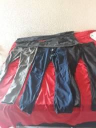 4 pares de calças semi novas por apenas 120 reais
