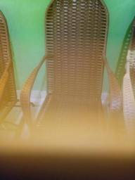 Cadeiras em fibra (rei do balanço )