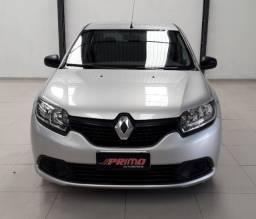 Renault logan 1,0 completo 2018 único dono 37mil de km
