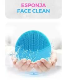 Esponja de limpeza facial