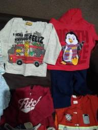 Lote roupa bebê menino tamanho G