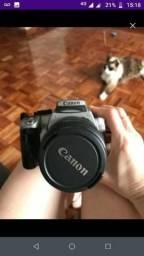 Câmera fotográfica + lente