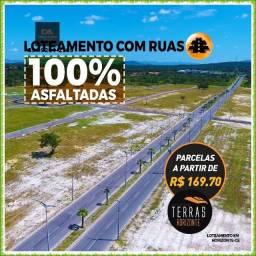 Título do anúncio: Lotes Terras Horizonte(Parcelas a partir de R$ 280,72)!!