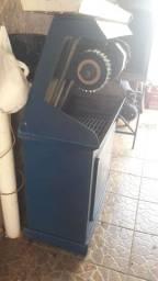 Máquina para lixar, lustrar e escovar