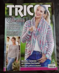 Revistas de tricô e ponto cruz