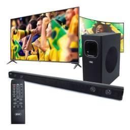 Soundbar Subwoofer 120w Optico Tv Smart Hdmi Bluetooth 2.1 Ch Usb TOP
