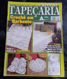 Revistas variadas de crochê