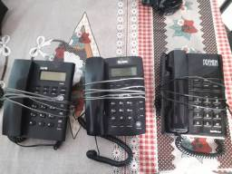 Telefones com fio barato