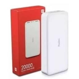 Bateria Externa da Xiaomi 20.000 mAh.. Muitas cargas..Novo Lacrado com Garantia