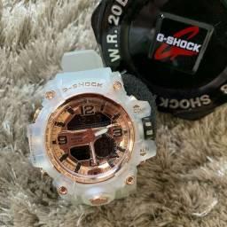 G-Shock Transparente