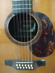 Violão elétrico Giannini 12 cordas (raridade)