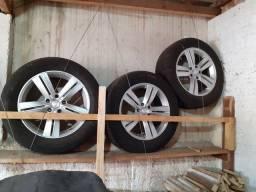Rodas esportivas Chevrolet aro 18 furaçao5x120