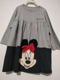 Vestidinho Minnie