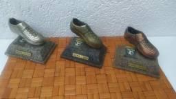 Conjunto de troféus de ferro copa volvo