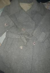 Casaco lã batida