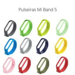 Título do anúncio: Pulseiras silicone  Mi Band