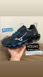 MIZUNO wave prophecy x preto azul