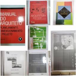 Livros de Arquitetura, Paisagismo e Urbanismo
