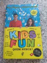 Título do anúncio: Livro Kids fun autografado