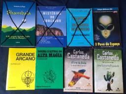 Livros Ocultismo Esoterismo Ufologia Magia e etc.