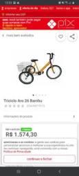 Triciclo bambu aro 26 conservado