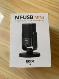 Microfone Rode Nt-usb Mini Cardióide