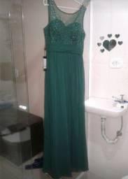 Título do anúncio: Vestido verde longo. M