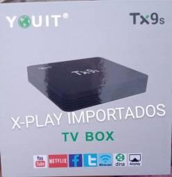 Título do anúncio: Tv box tx9s