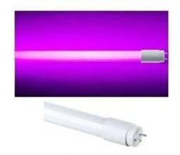 Título do anúncio: Lampada aquario cor rosa tam 120cm 20 watts